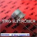 2N3866 - TRANSISTOR DE RF POWER Silicon High Frequency, NPN 30V 800MHZ,VHF/UHF/AM TO39
