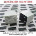 36.11.9.048.4001 48VOLTS - Relê 48Volts, 10A, 5Terminais, General Purpose Relay, 36 Series, Power SPDT,