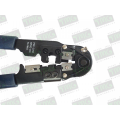 ALICATE PARA CRIMPAR CONECTORES RJ45 / RJ50 Connector Telephone and Telecom. - 10VIAS