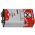 BATERIA 9Volts RECARREGAVEL,Rechargeable 9V Batteries - Varios