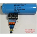 1000UF 25V - CAPACITOR ELETROLITICO RADIAL 105°C LOW ESR