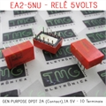 EA2-5NU 5VOLTS - Rele 5V, RELAY NEC TOKIN EA2-5SNU - RELAY GEN PURPOSE DPDT 2A (Contact),1A 5V - 10pinos