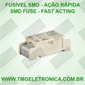 1,6Amp - FUSIVEL SMD Rapido - Surface Mount FAST ACTING 11Mmx4,6Mm