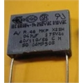 47K 275V CAPACITOR POLIESTER RADIAL,Polyester Suppression Capacitors Class: X2