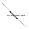 Reed Switch - 2,5Mm x 18Mm, Ampola de Vidro,Magnetic Control Reed Switches,GLASS Reed Switches 3Amper (SPST) Normally Open (N.O.) Contato Normal aberto (NA).