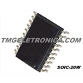 74HC574 - CI Flip Flop D-Type Bus Interface Pos-Edge 3-ST 1-Element 20-Pin SOIC