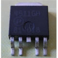 AP4511GH - TRANSISTOR N AND P-CHANNEL POWER MOSFET, TO-252-4 SMD