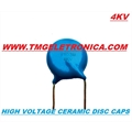 10Pf - Capacitor ceramico 4KV / 4000VOLTS Capacitors Ceramic High Voltage