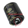 10000UF 50V - CAPACITOR ELETROLITICO RADIAL SNAP-IN, Aluminum Electrolytic Capacitors 85°C 30X40Mm