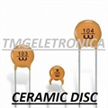 1PF - Capacitor Ceramico Disco ,Cermaic Disc Capacitors 50Volts Single layer