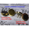 MICRO MICROFONE ELETRETO,Electret Microphone,Electret Condenser Microphone - Varias Medidas